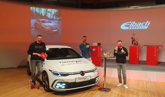 Eibach: Golf 8 GTI winner announced