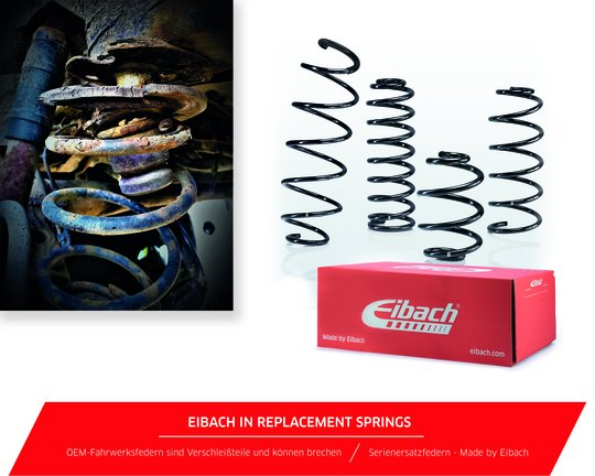 SC Eibach in Replacement Springs